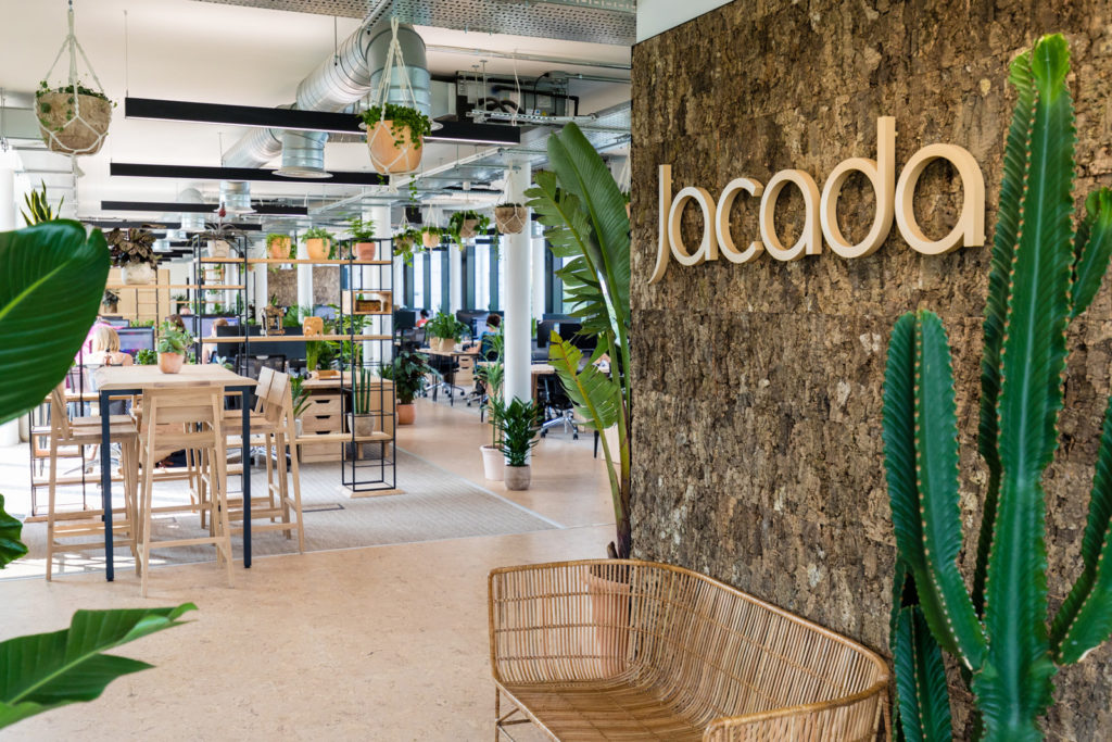 Office furniture refit for luxury travel agent Jacada in London