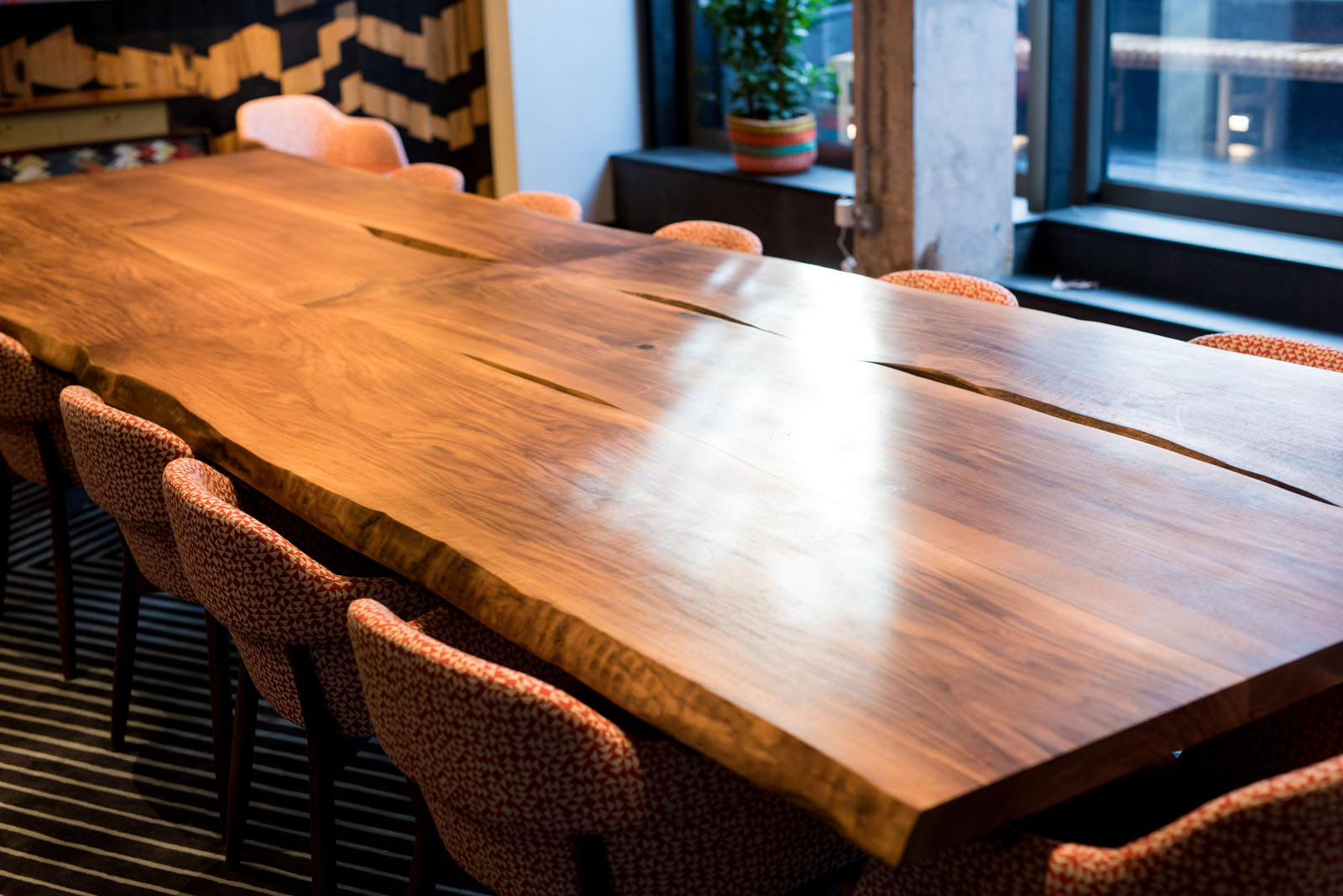 Bespoke Boardroom Table for Nando's Head Office