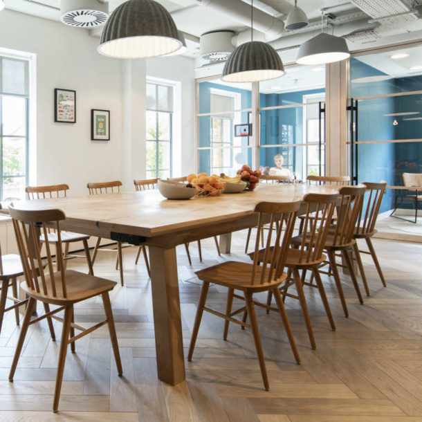 Wiltshire-based furniture makers - Forest & Maker - are returning to Clerkenwell for a second time with a clear focus on hand-crafted solid timber furniture